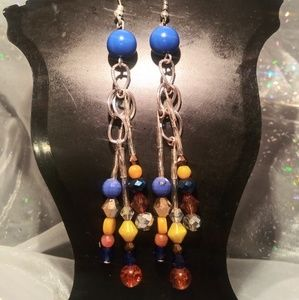 Jewelry - Handmade dangle earrings